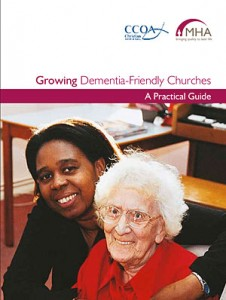 Front cover of MHA Dementia-Friendly church guide